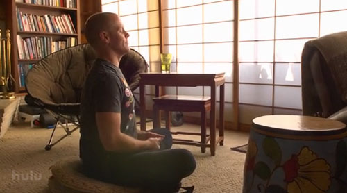 Tim Ferriss Meditating