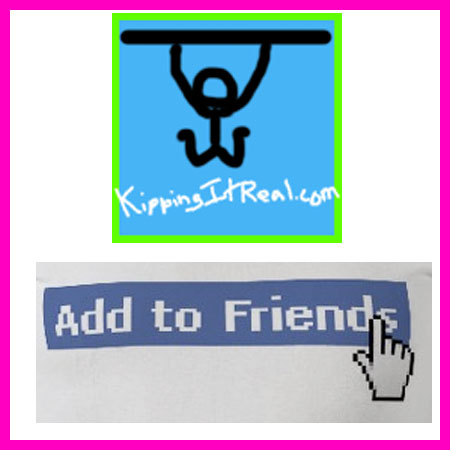 Add KippingItReal on Facebook!
