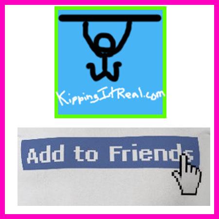 Add KippingItReal on Facebook!