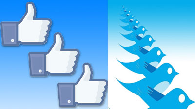 Facebook Likes Twitter Retweets Validation