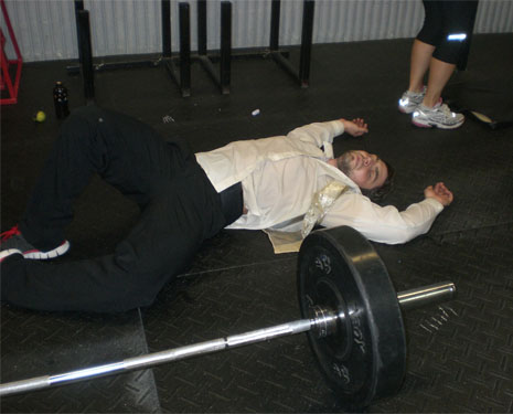 Passed Out CrossFit