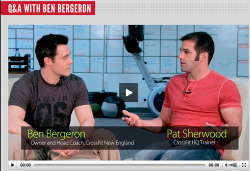 Pat Sherwood Ben Bergeron CrossFit New England Q&A Interview