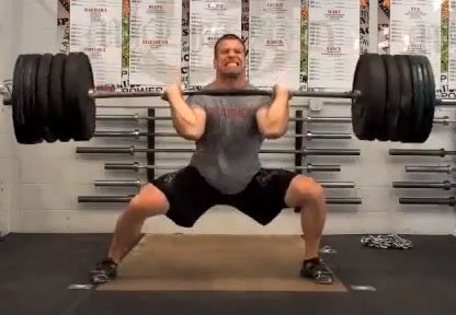 Rob Orlando Wide Foot Stance Catch Power Clean