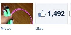 1492 Facebook Likes