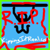 KippingItReal Blog Died