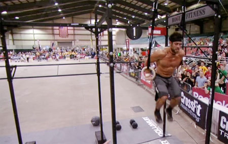 Rich Froning Jr Muscle Up