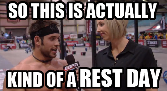 Rich Froning Jr Rest Day