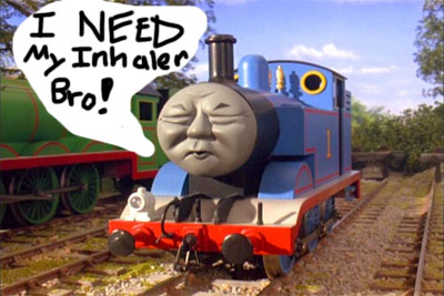 Thomas The Tank Engine Inhaler Asthma