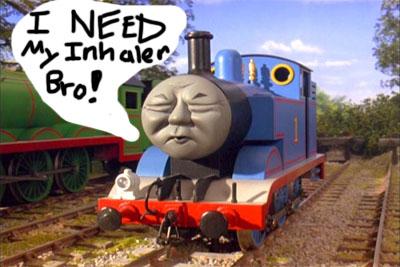 Thomas The Tank Engine Inhaler Asthma