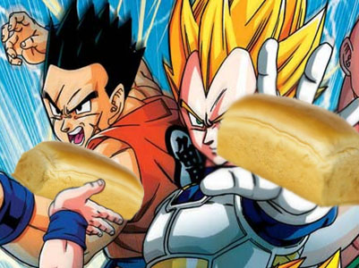 Dragon Ball Z Bread