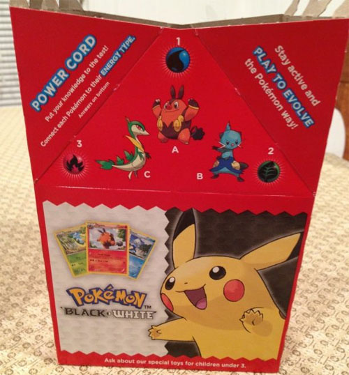 Pokemon Happy Meal CrossFit Paleo