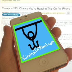 There's a 22% Chance You're Reading This On An iPhone