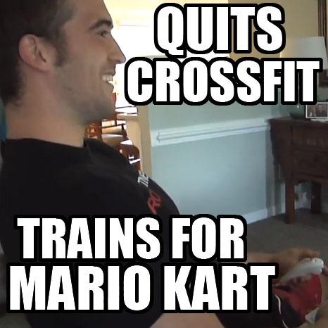 Ben Smith CrossFit Mario Kart