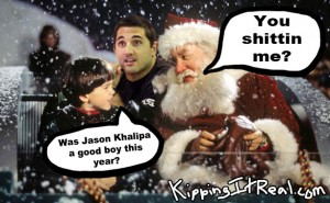 Jason Khalipa Santa Clause Christmas Good Boy