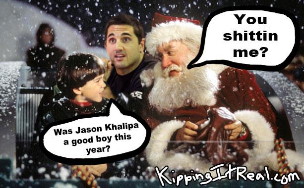 Jason Khalipa Santa Clause Christmas Good Boy