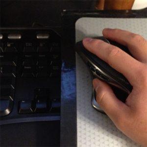 Microsoft Natural Ergonomic Keyboard 4000 Positioning